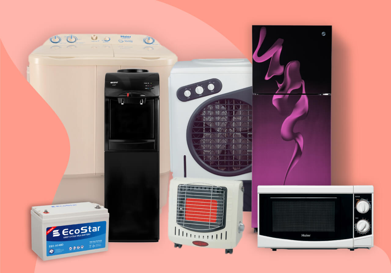 Buy Home Appliances  On Easy Installments
