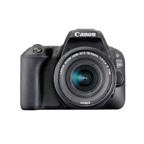 Buy Canon EOS 200D 18-55mm Kit lens On Installments