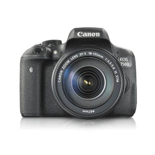 Buy Canon EOS 750D 18-55mm On Installments