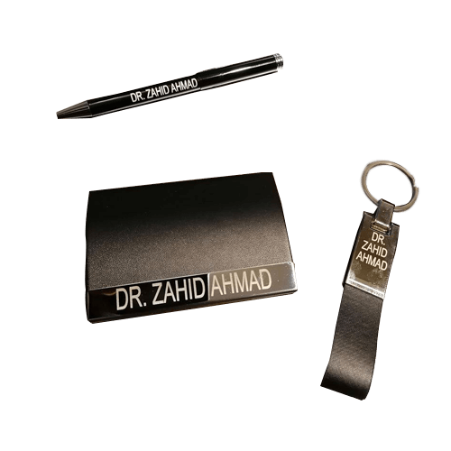 Buy Name Engraved | Leather Wallet Pen Key Chain On Installments