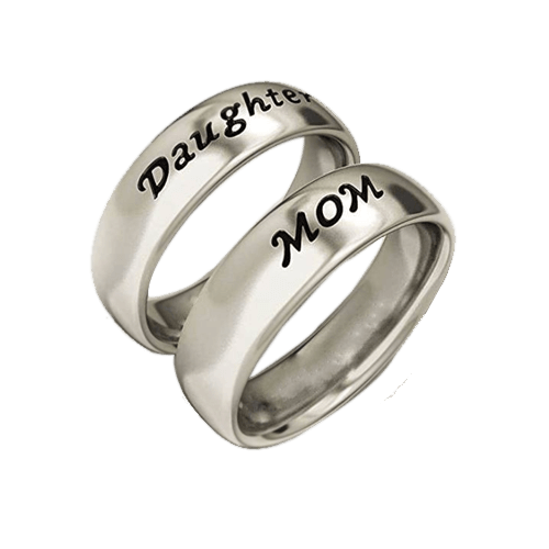 Buy Name Engraved Personalized Ring On Installments