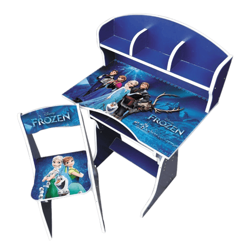 Buy Frozen Cartoon Character Kids Study Table On Installments