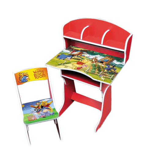 Buy Winnie The Pooh Cartoon Character Kids Study Table On Installments