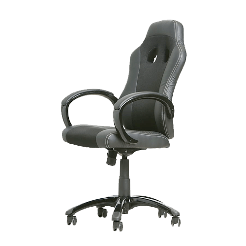 Buy Swift Chair Black (OF-SWFT-BK-44237)  On Installments