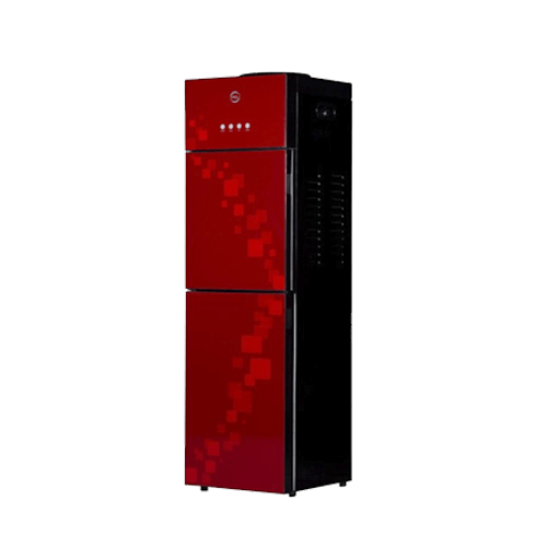Buy PEL Glassdoor Red Block Spiral Water Dispenser On Installments