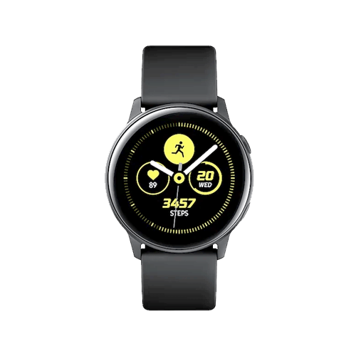 Buy Galaxy Watch Active (40mm) Black  On Installments